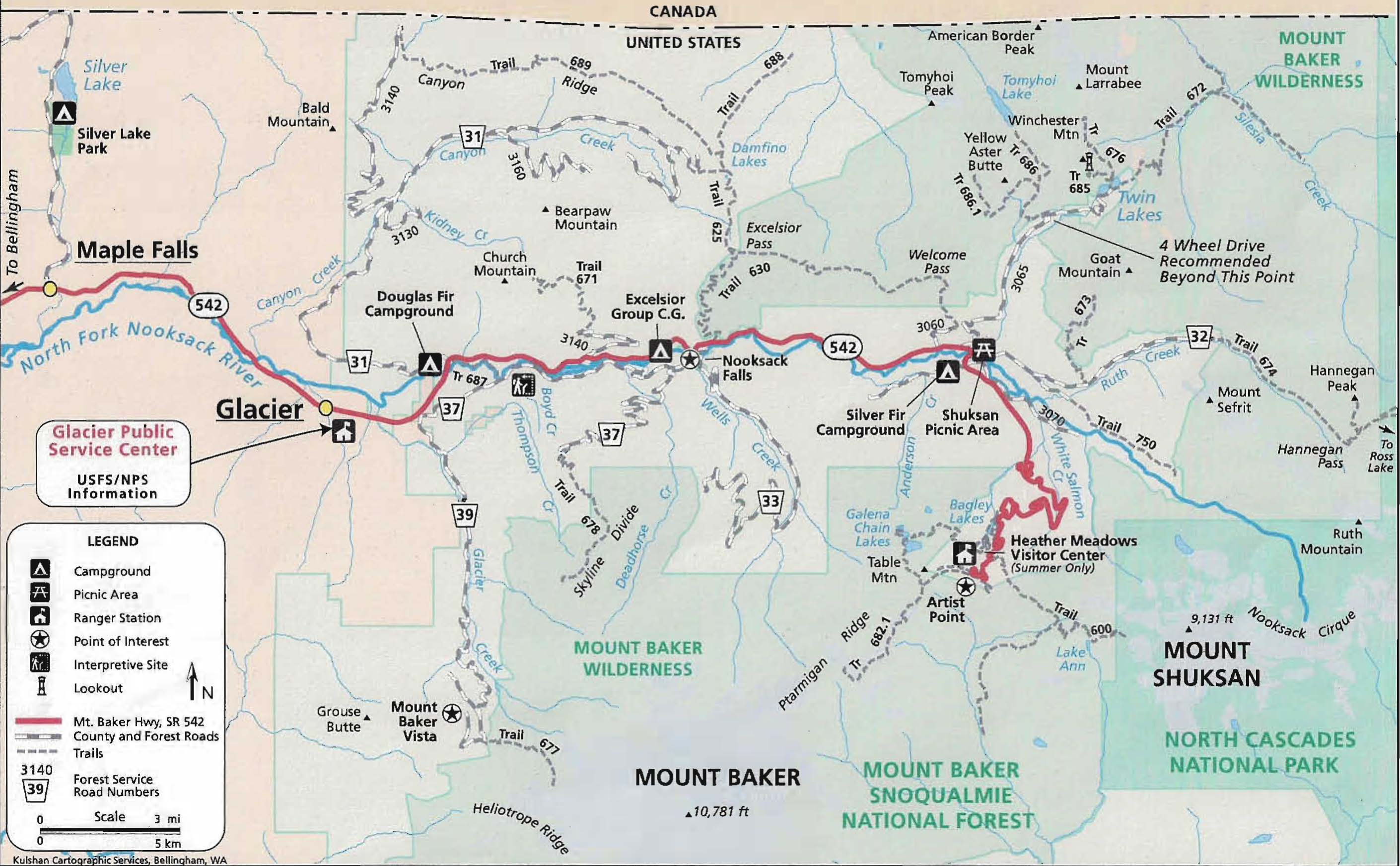 Mt Baker Trails: Hiking, Climbing, and Camping Reports ...